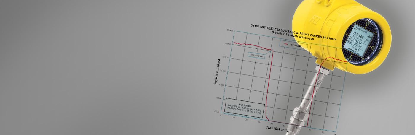 Temat wydania: Technologia AST w przepływomierzach termicznych serii ST100 firmy FCI