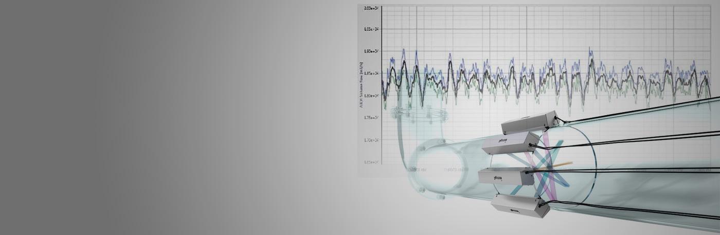 Pierwsza aplikacja czterokanałowego gazowego przepływomierza bezinwazyjnego typu Clamp-on