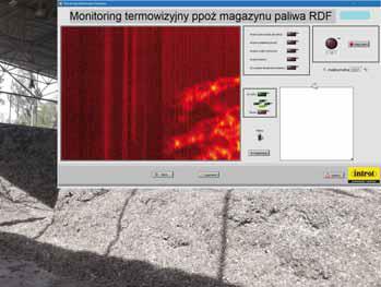 Ciągły, automatyczny, 24/7 monitoring termowizyjny magazynu RDF